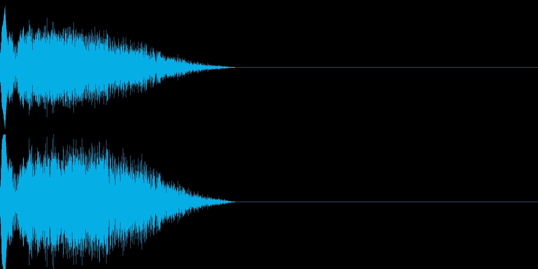 ショット_その4の再生済みの波形
