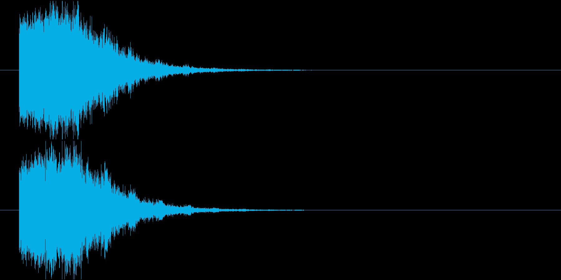 凍りつく_ロゴ表示インパクトの再生済みの波形