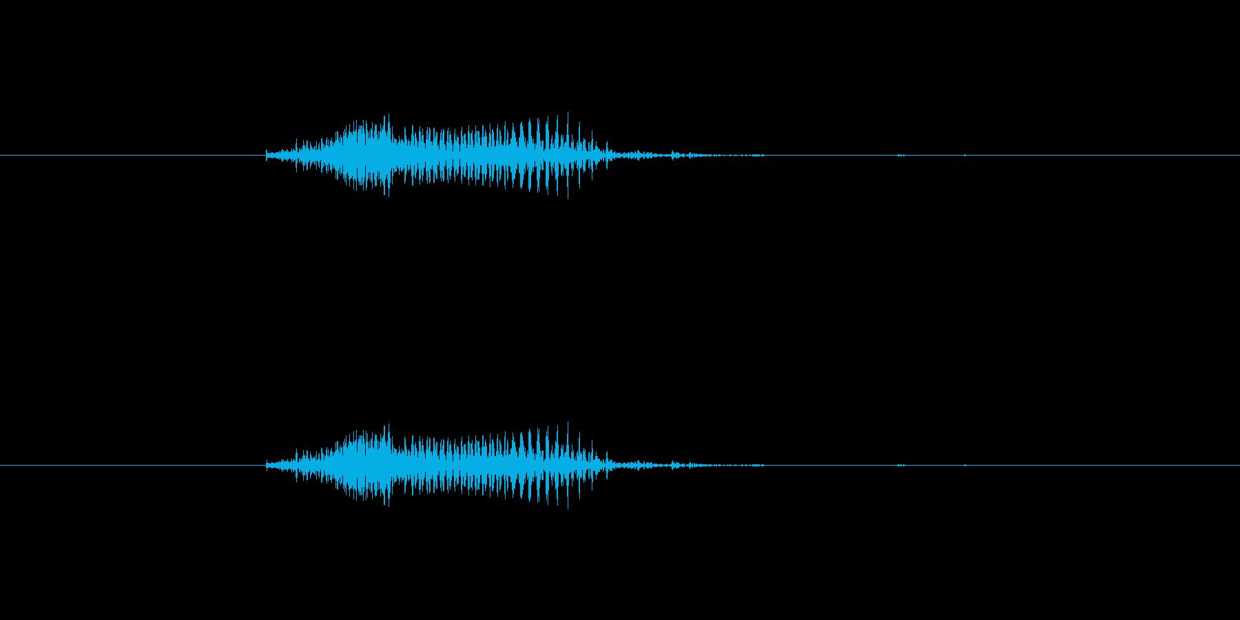 ツモ(麻雀)の再生済みの波形