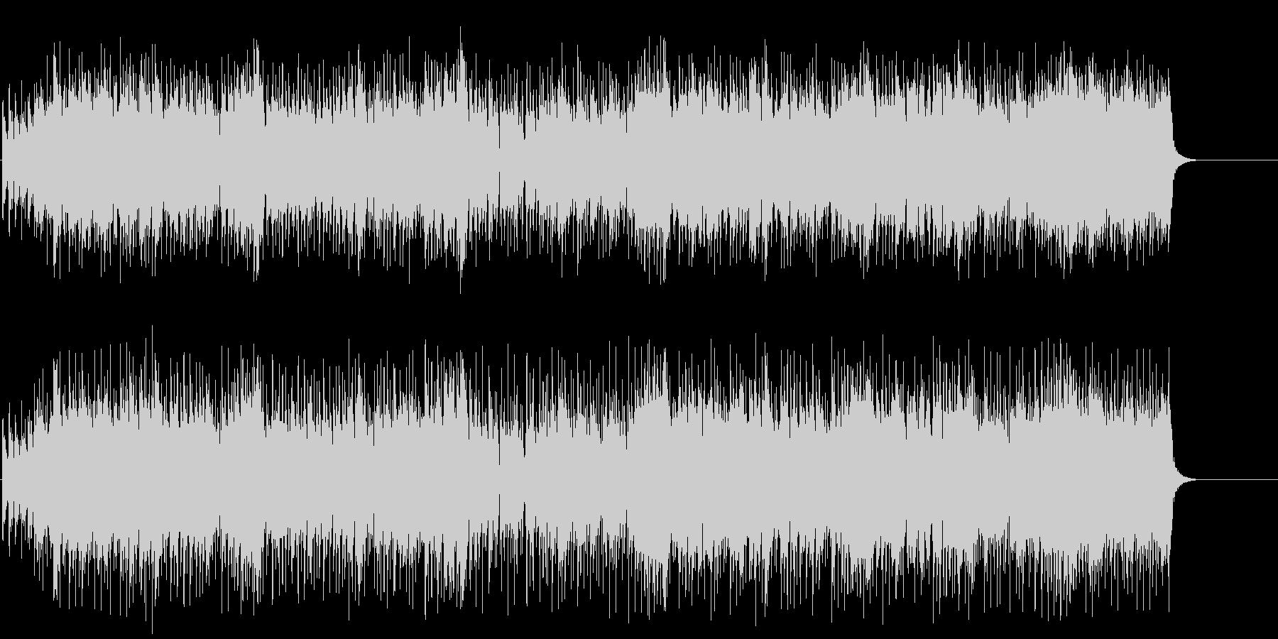 流れるようなポップ/セミクラ/BGの未再生の波形