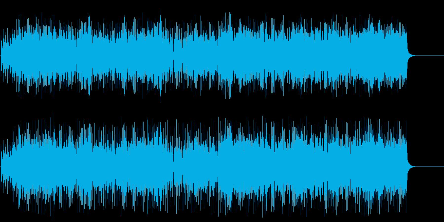 流れるようなポップ/セミクラ/BGの再生済みの波形