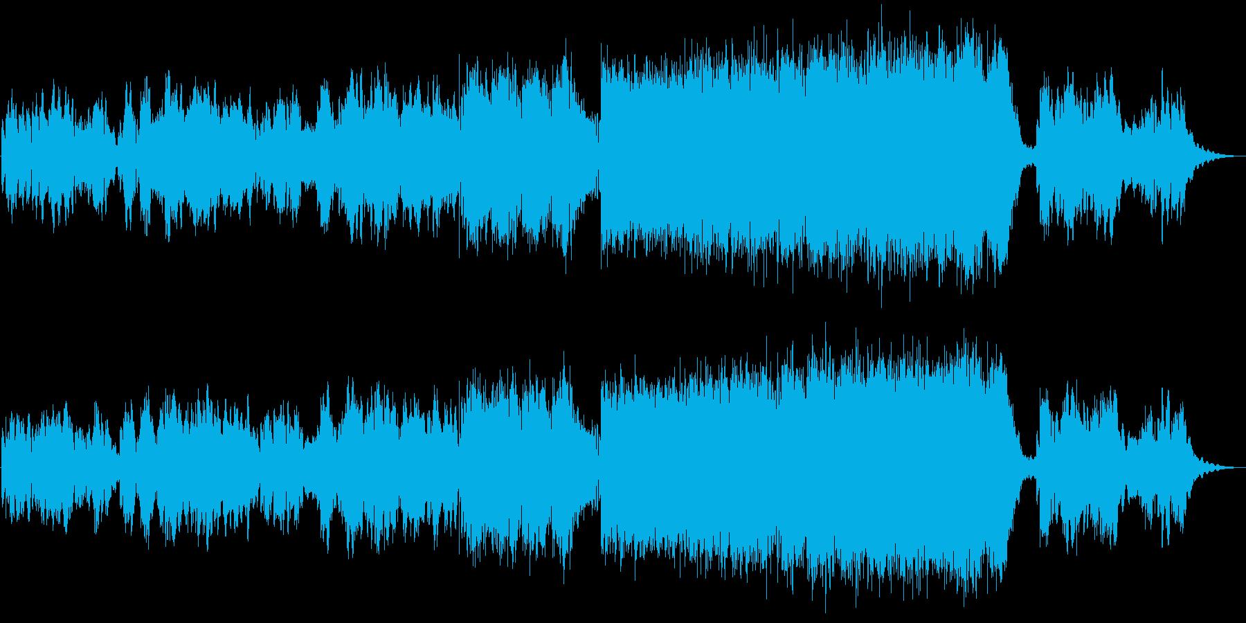 男声ボーカル バラードの再生済みの波形