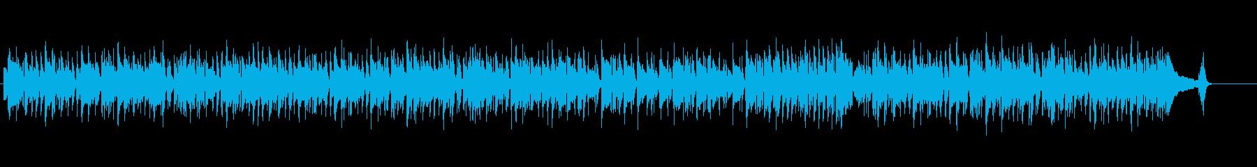 【生音】クリーンギターの幸せ春サウンドの再生済みの波形