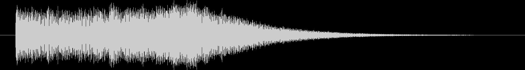 映像オープニングに最適なロゴ・ジングルの未再生の波形