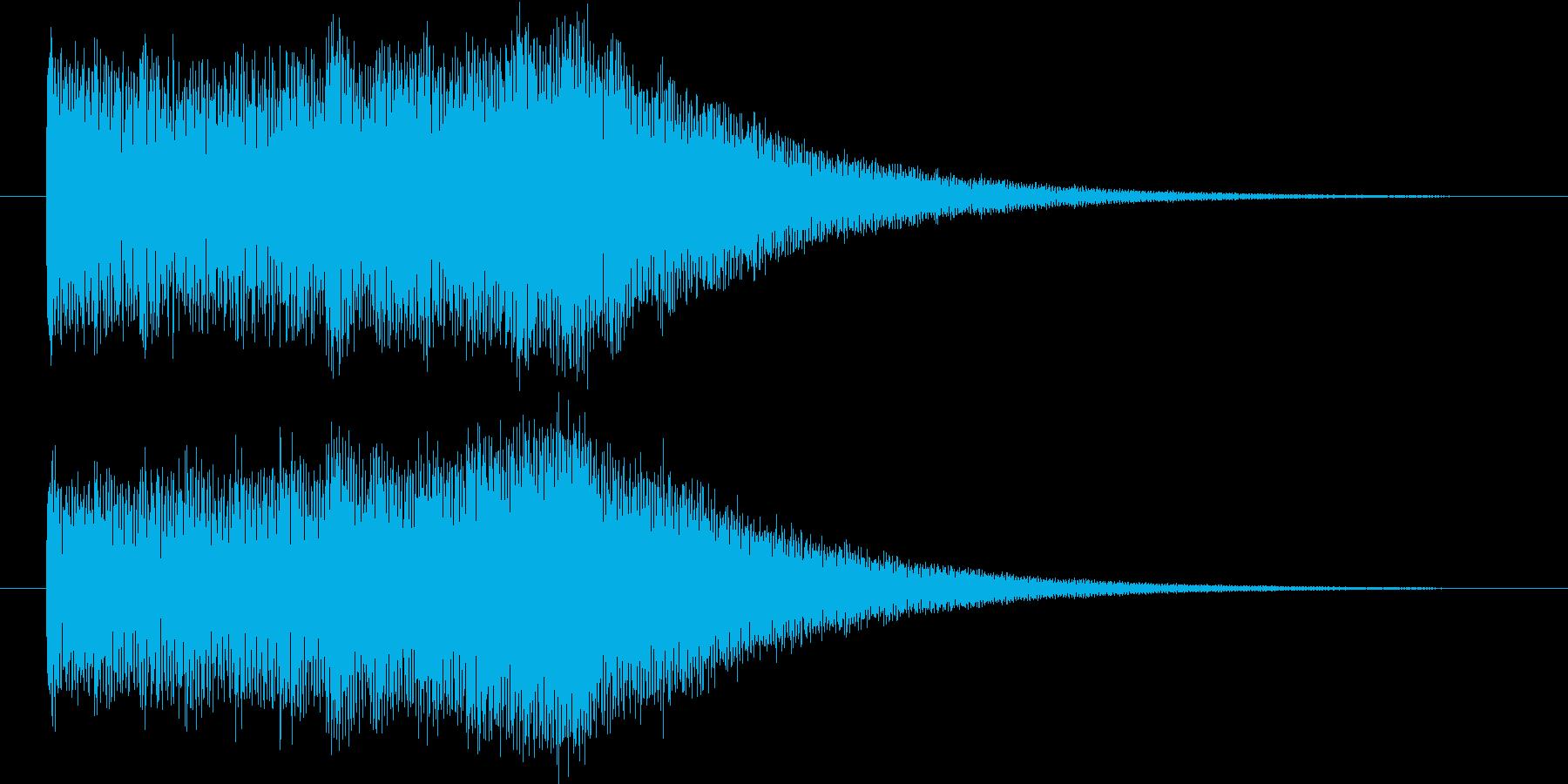 映像オープニングに最適なロゴ・ジングルの再生済みの波形