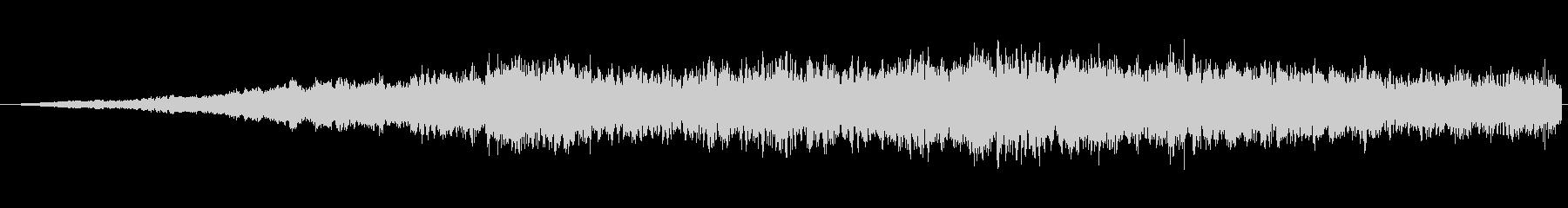 SFっぽい音その3です。「ヒュワワワワ…の未再生の波形