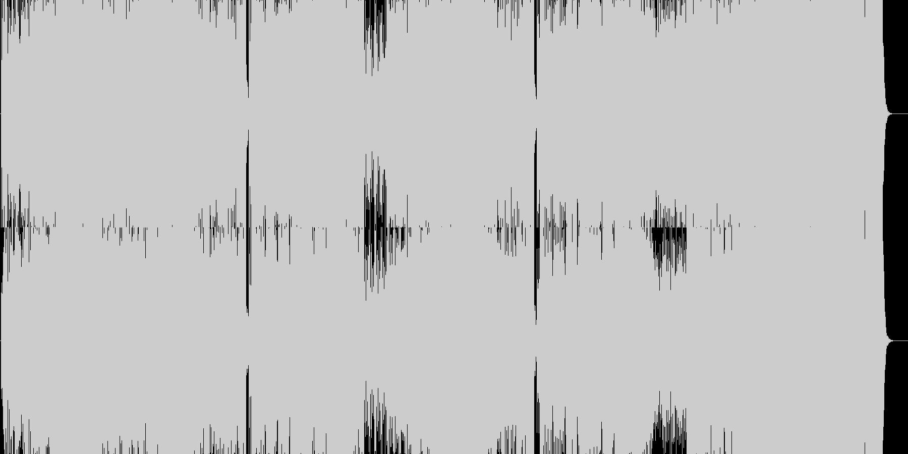 white moon(alto sax)の未再生の波形