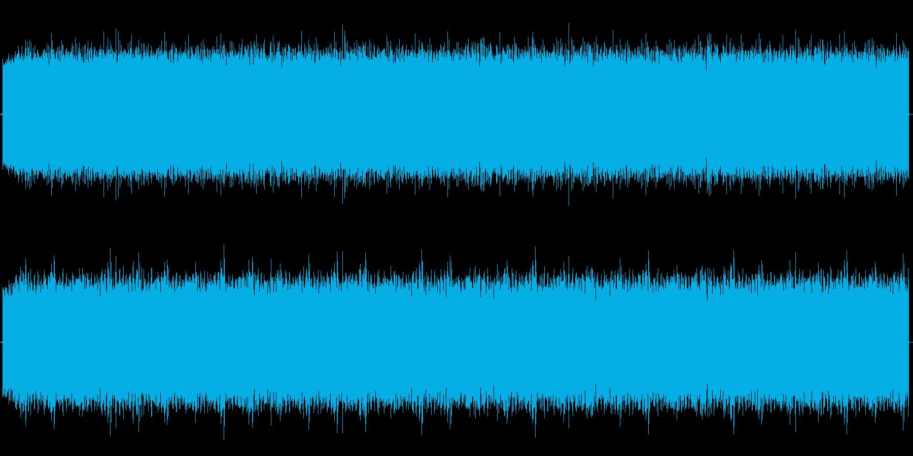 ピョワオワオワオワ です。 長めのサ…の再生済みの波形