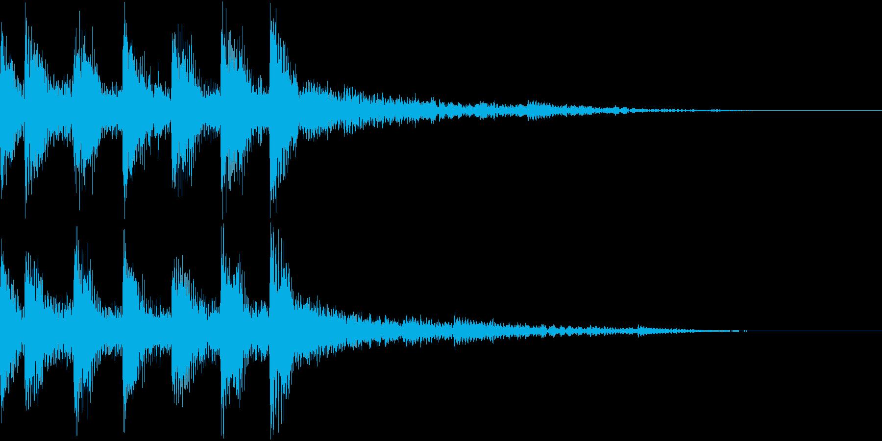 ファンファーレ 公開 フラグ 表示の再生済みの波形