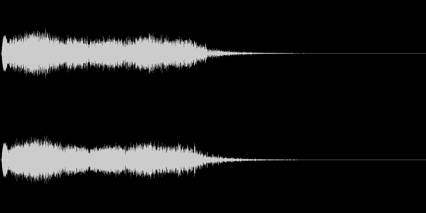 落下 (ヒューーーーーーーーーーン)の未再生の波形