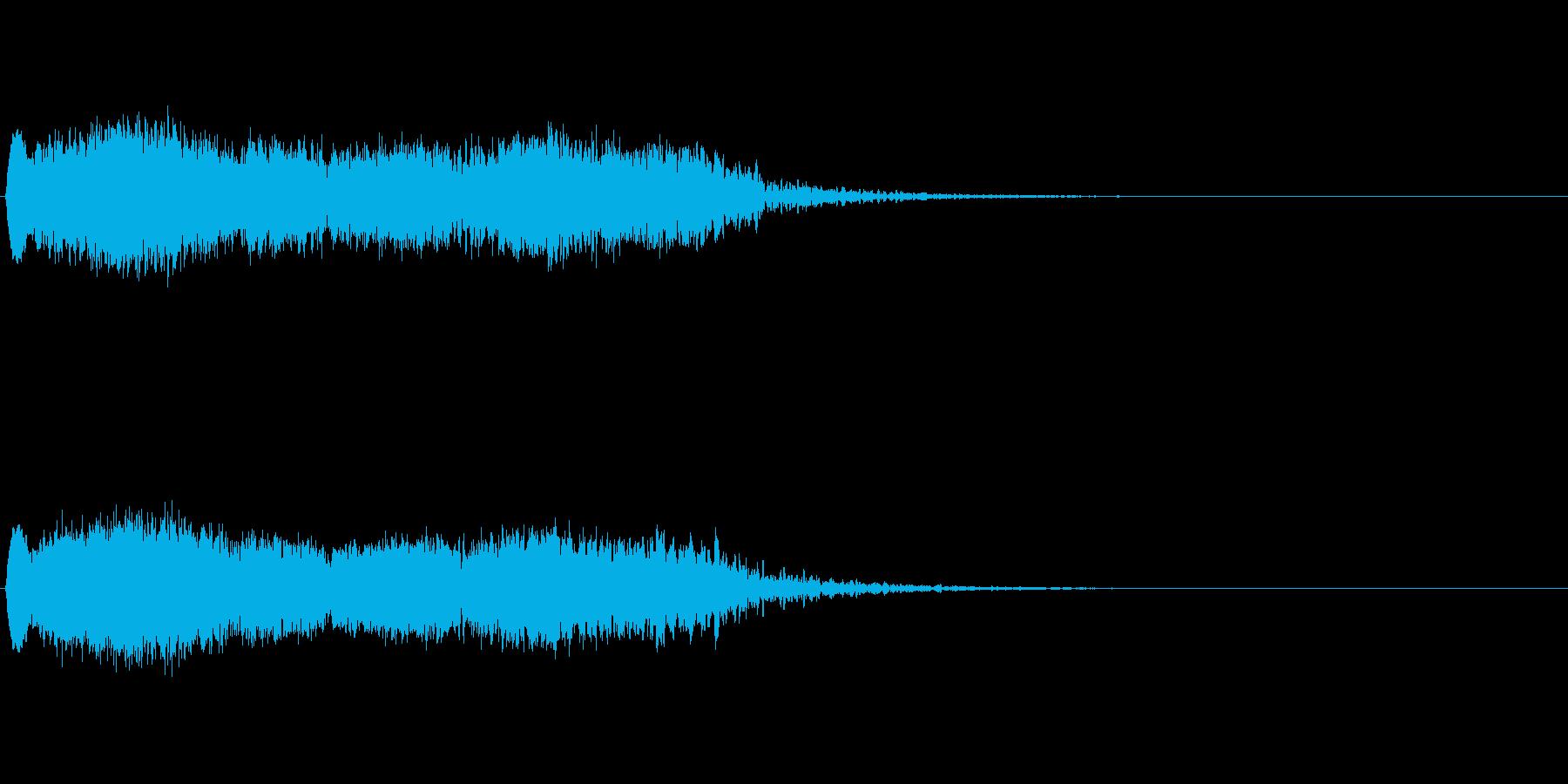 落下 (ヒューーーーーーーーーーン)の再生済みの波形