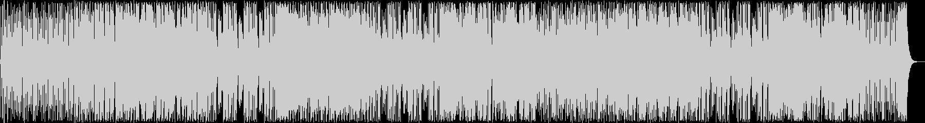 ドキドキ感シンセサイザーサウンドポップの未再生の波形