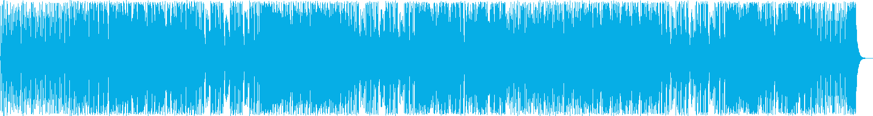ドキドキ感シンセサイザーサウンドポップの再生済みの波形