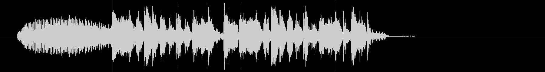 シュオーン+ジングルの未再生の波形