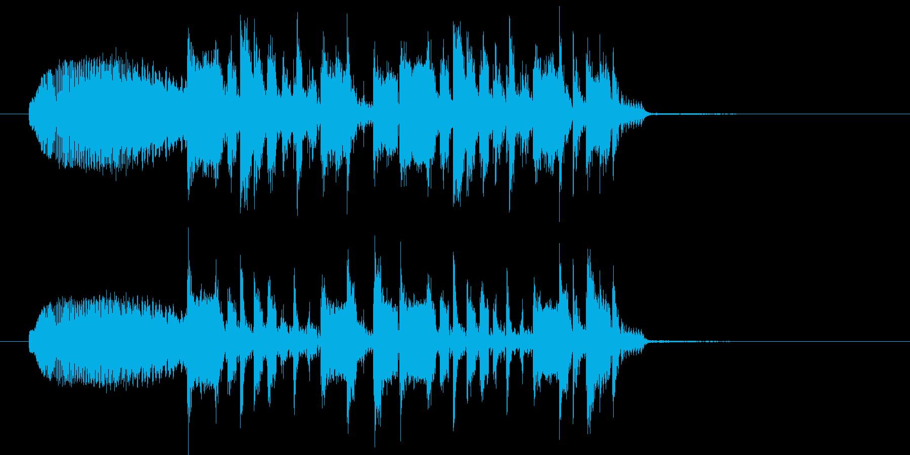 シュオーン+ジングルの再生済みの波形
