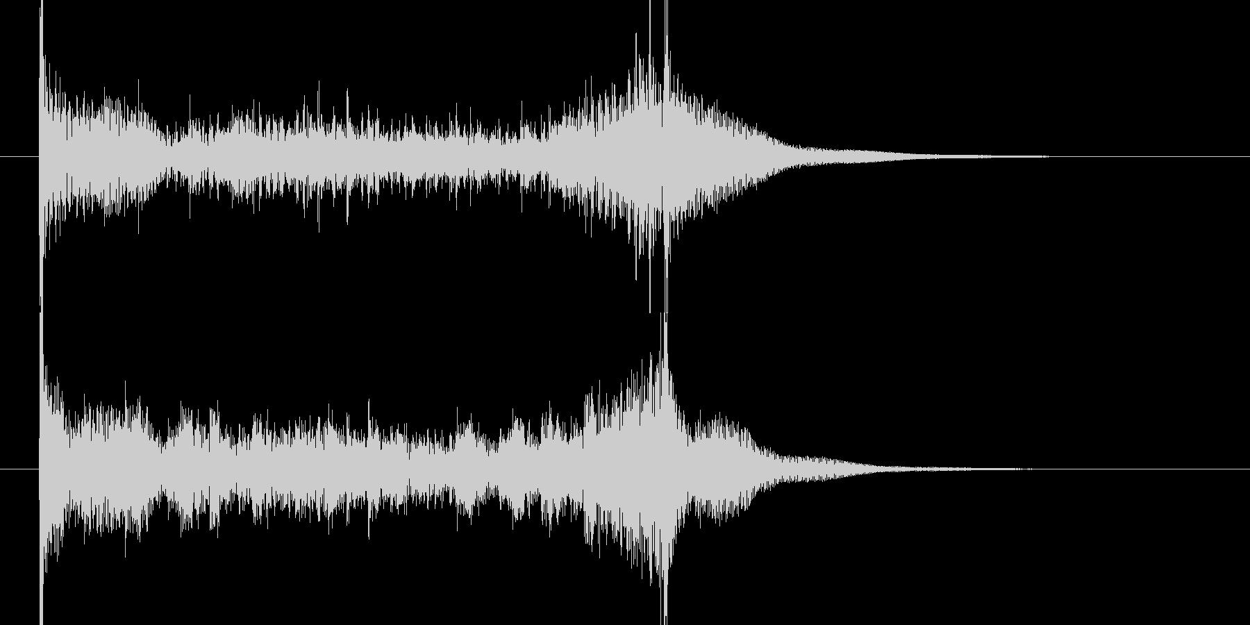 ティンパニロール 結果発表 タイプAの未再生の波形