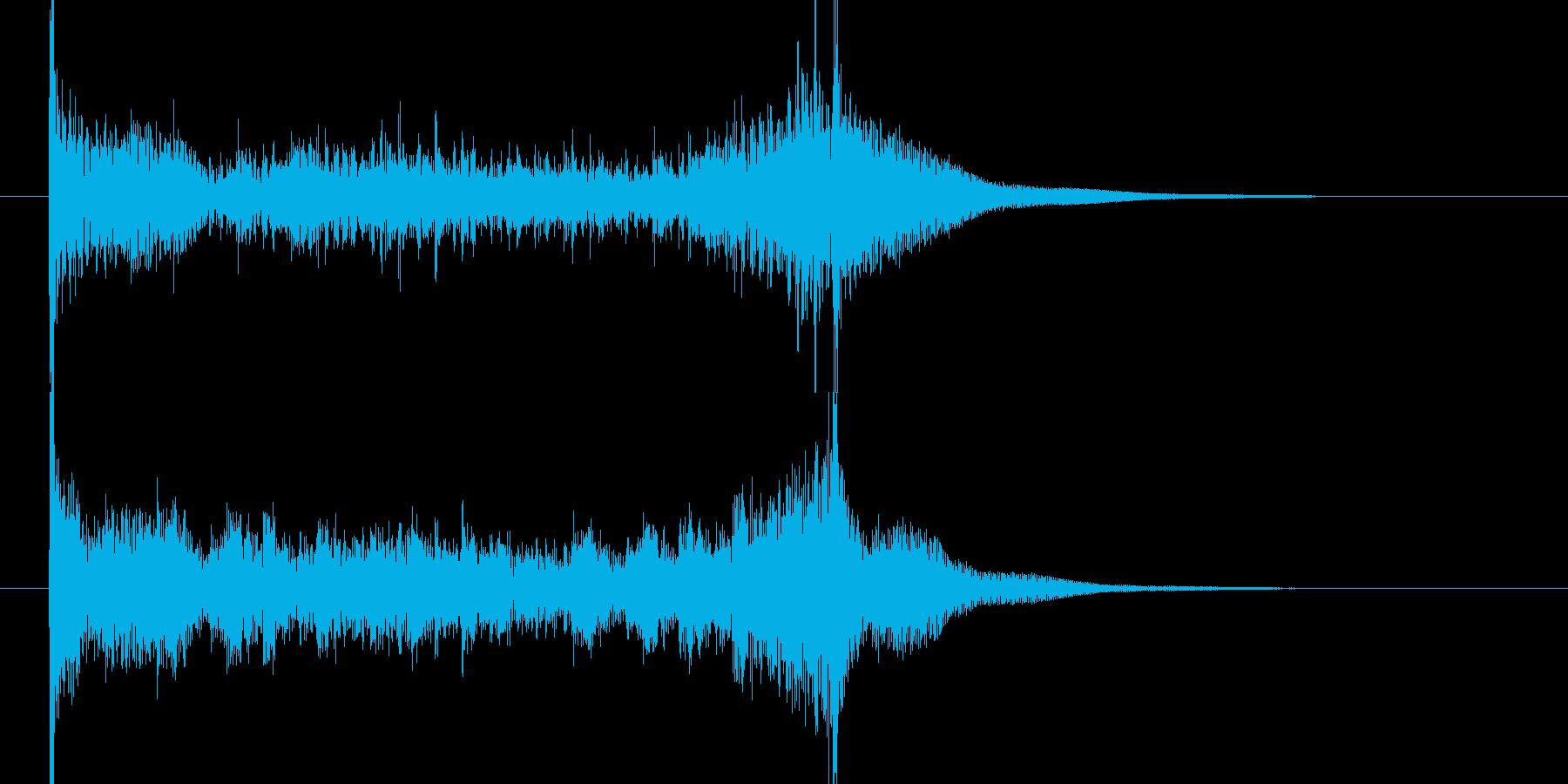 ティンパニロール 結果発表 タイプAの再生済みの波形