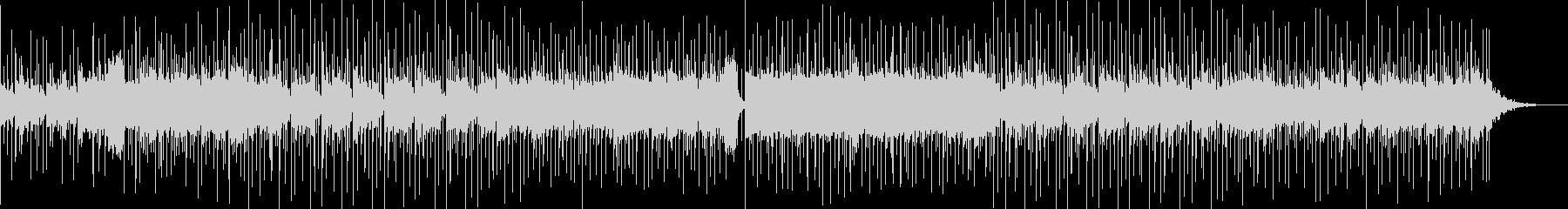 ほのぼのするメロディと印象的なリズムの曲の未再生の波形