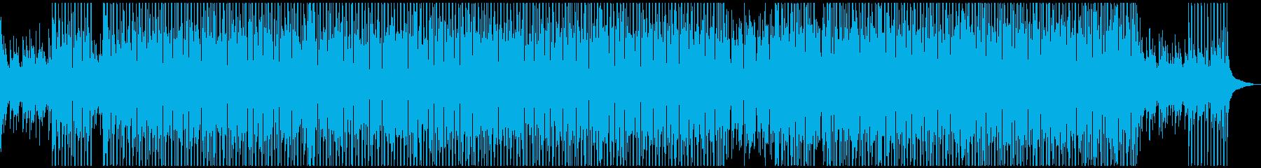 【メロディ無】夏をイメージしたトロピカルの再生済みの波形