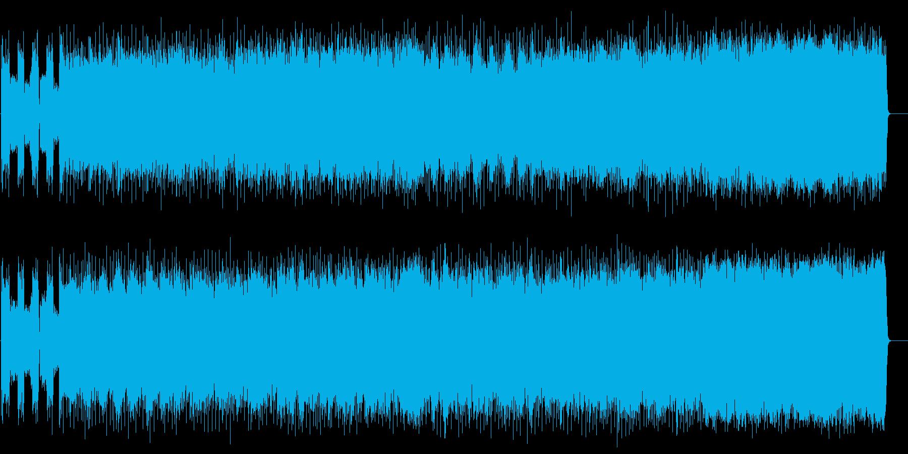 クランチギターが渋いアメリカンロックの再生済みの波形