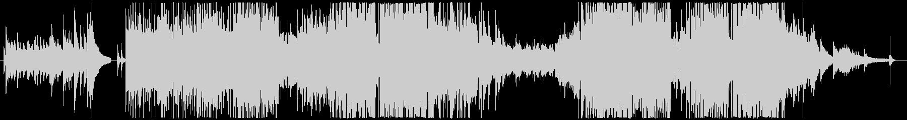 オープニングに使えるオシャレな曲の未再生の波形