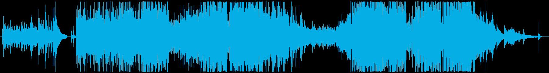 オープニングに使えるオシャレな曲の再生済みの波形
