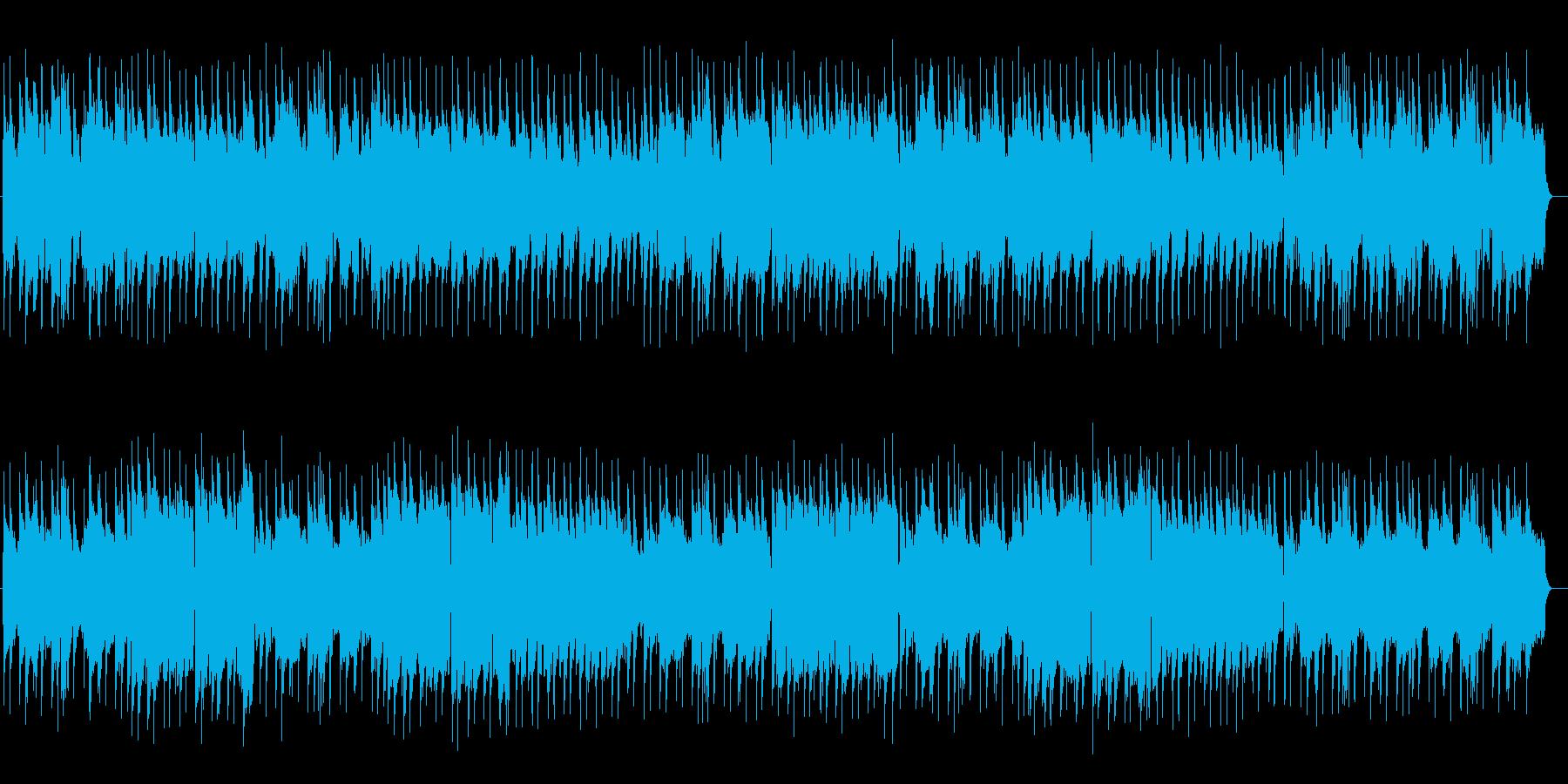 のどかで牧歌的なソングの再生済みの波形