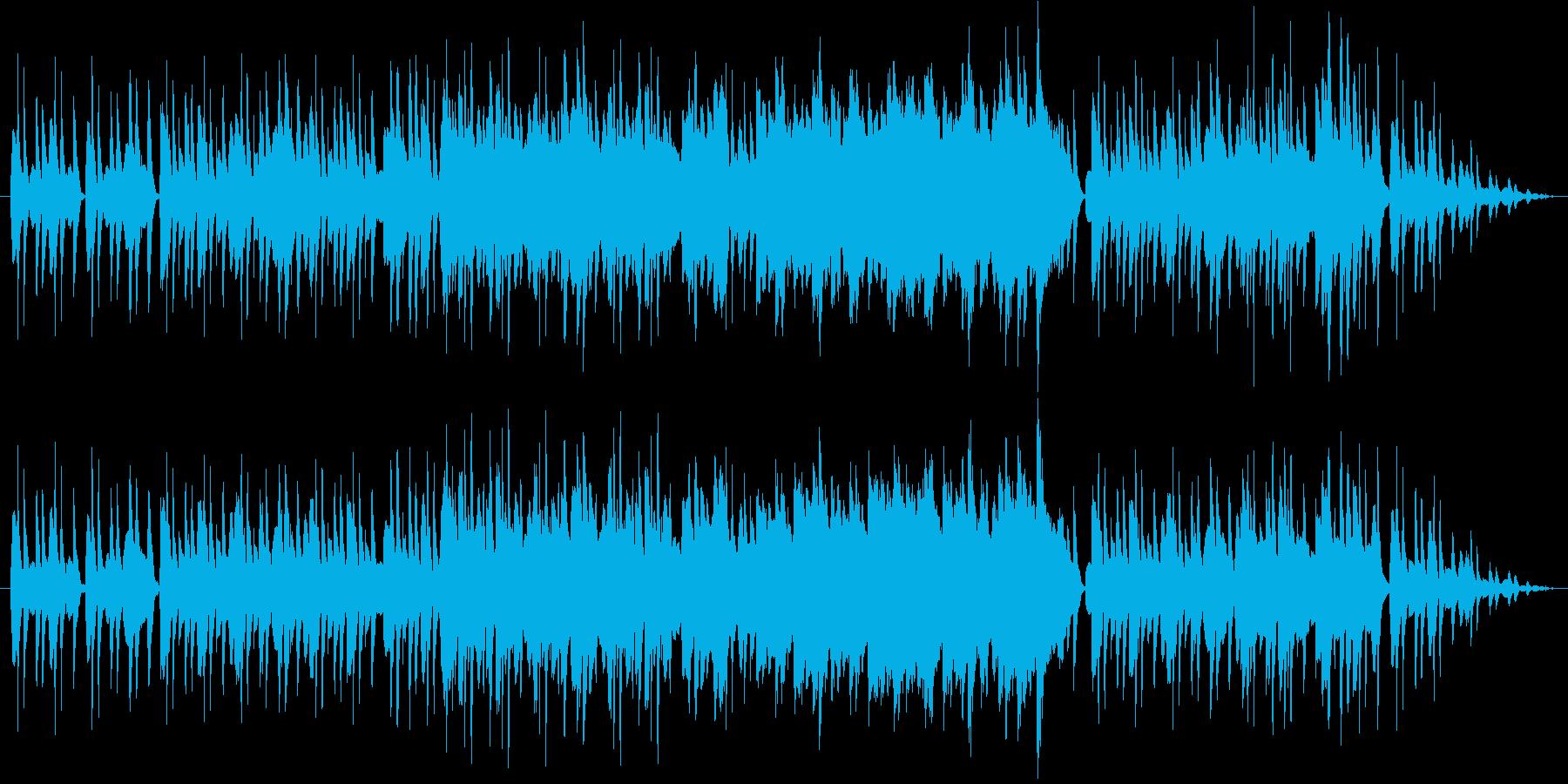 軽快で淡々とした3拍子の曲。料理や裁縫…の再生済みの波形