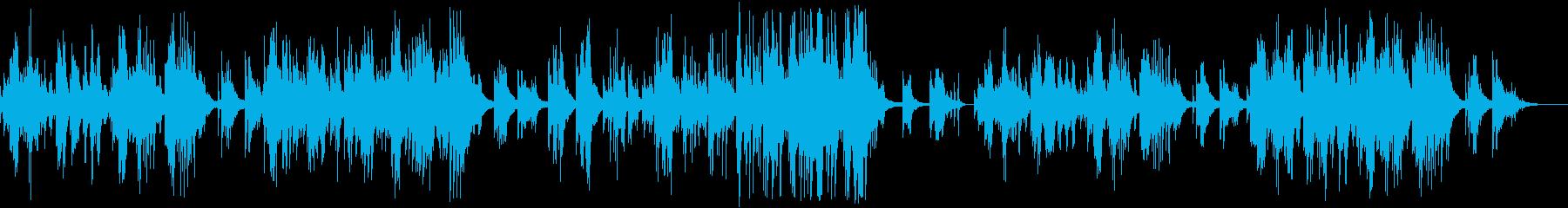 ピアノ曲の穏やかなバラードです。の再生済みの波形