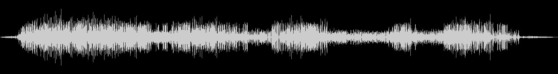 【自然音】カエルの鳴き声01(安曇野)の未再生の波形