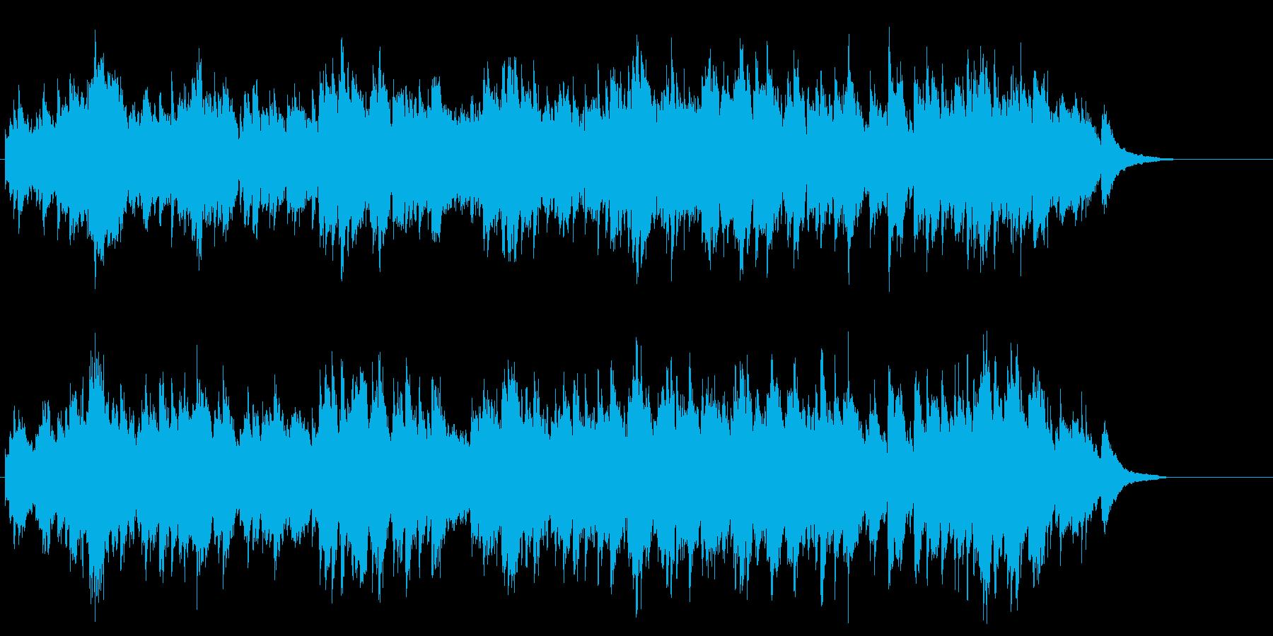 ピアノコンサート 上品 ブライダル 幸福の再生済みの波形