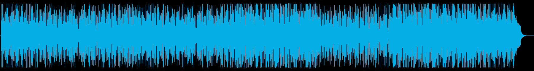 フルートの旋律で奏でる陽気なポップスの再生済みの波形