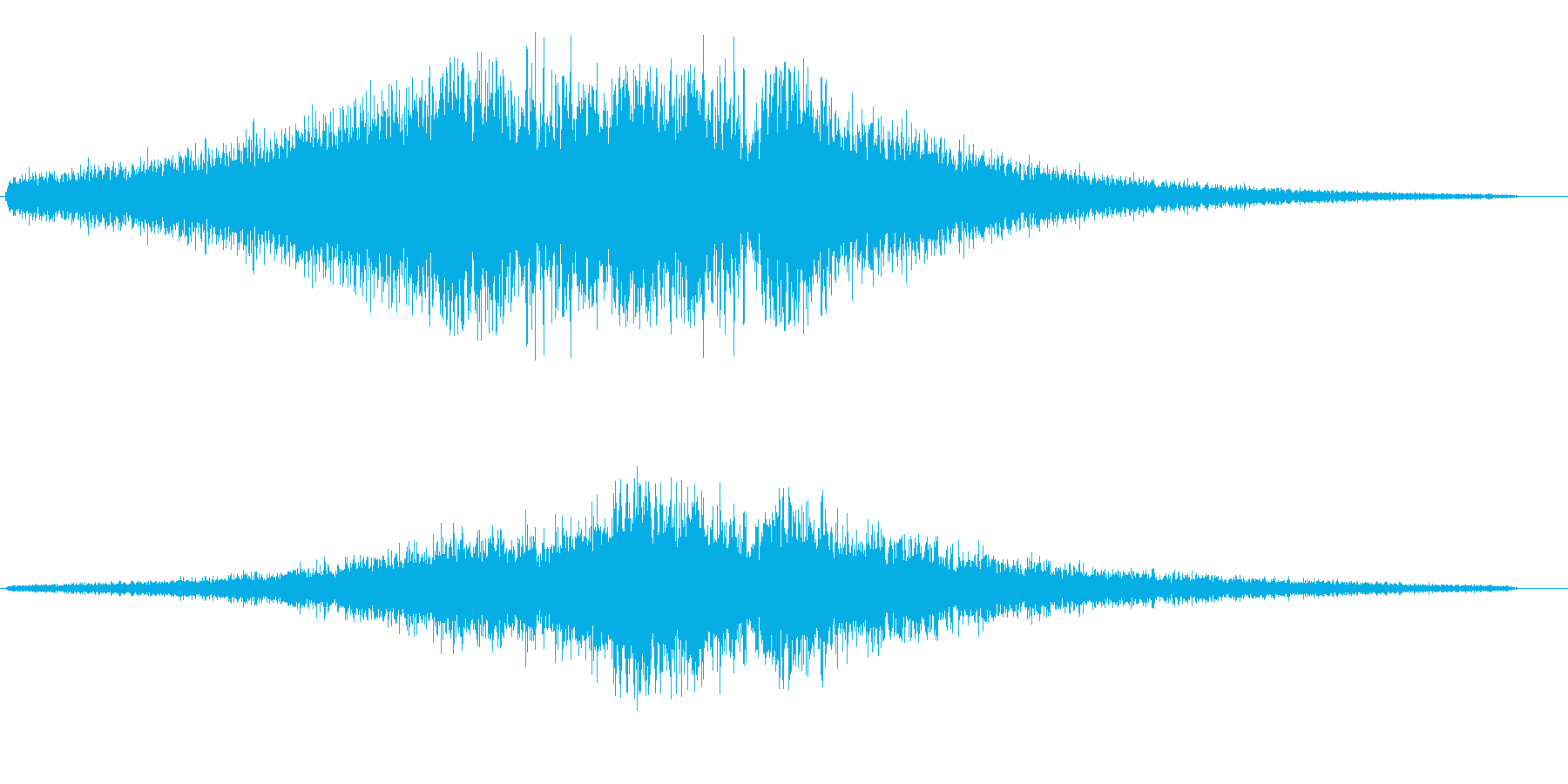 シャービシューン(光の通過)の再生済みの波形