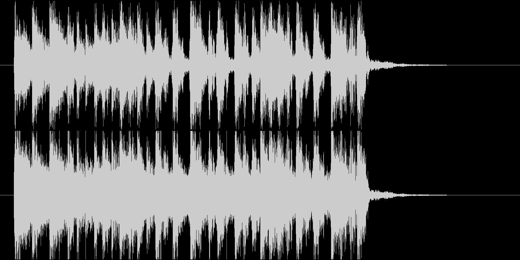 【ジングル】オルガン主体のバンド曲の未再生の波形