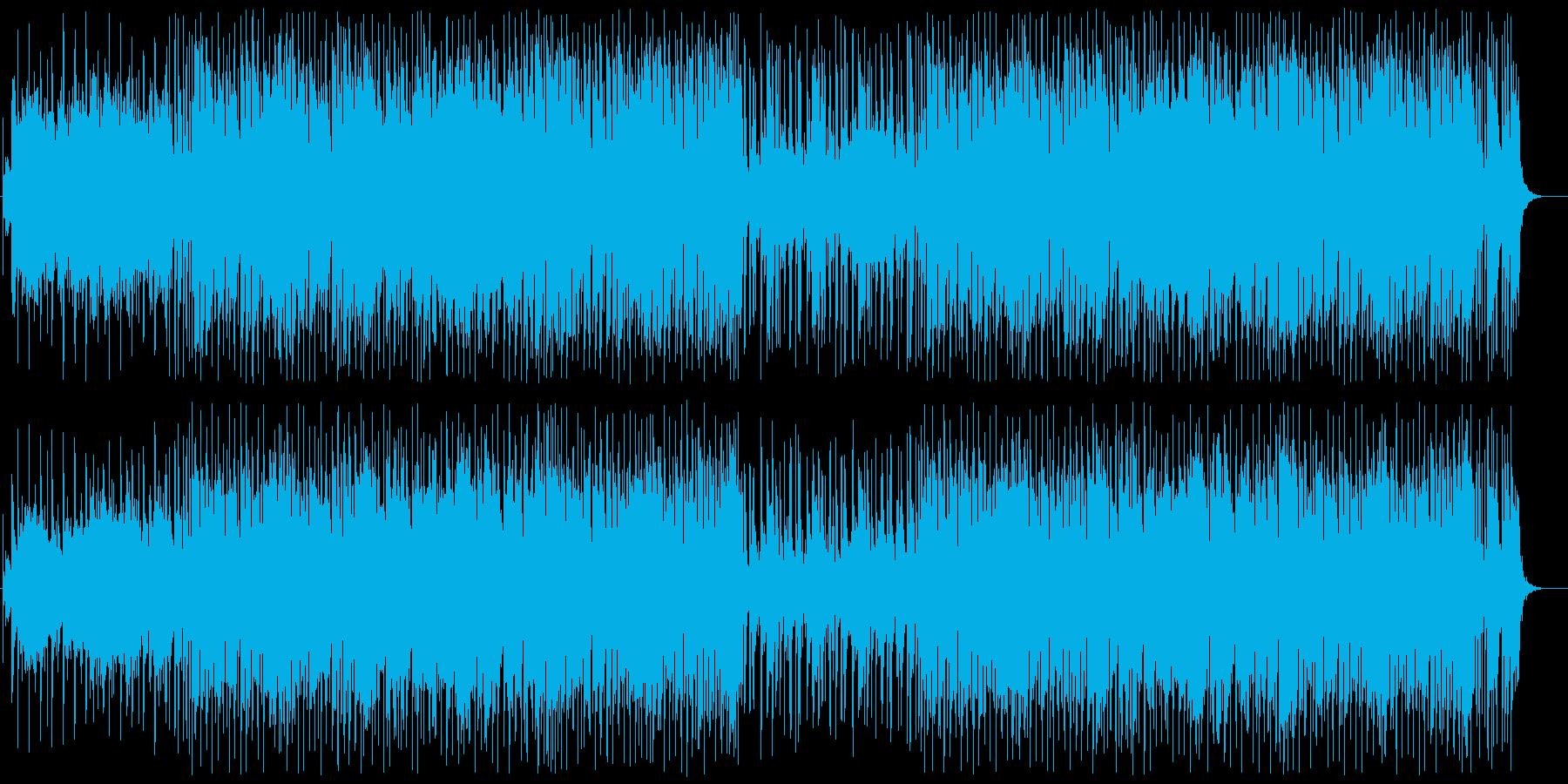 元気が出てくるキラキラポップの再生済みの波形