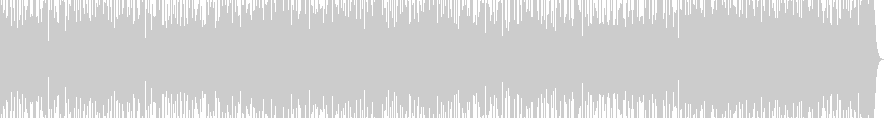 Funkなスラップベースとトランペットの未再生の波形
