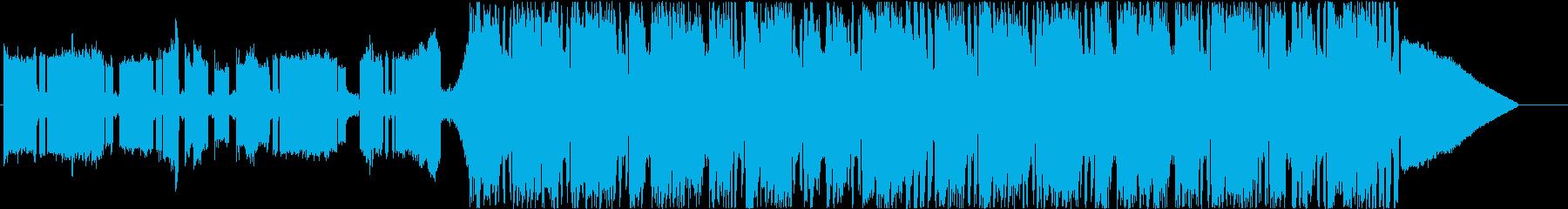 EDMドロップの再生済みの波形