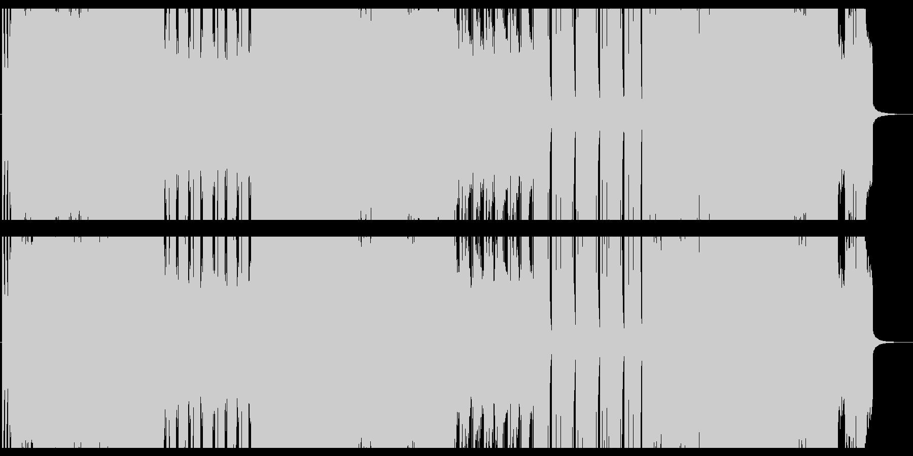 シンプルでさわやかなギターインストの未再生の波形