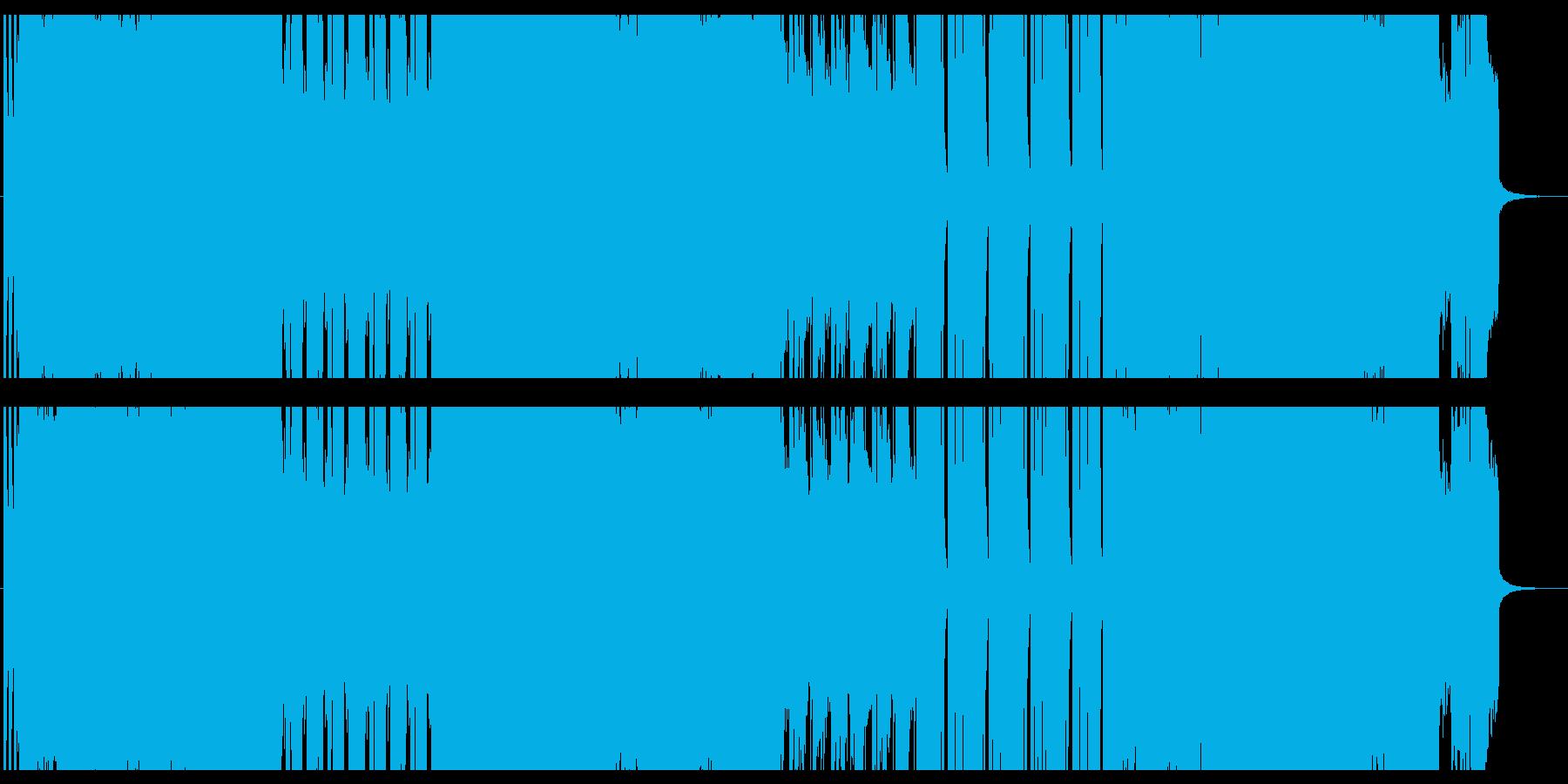 シンプルでさわやかなギターインストの再生済みの波形