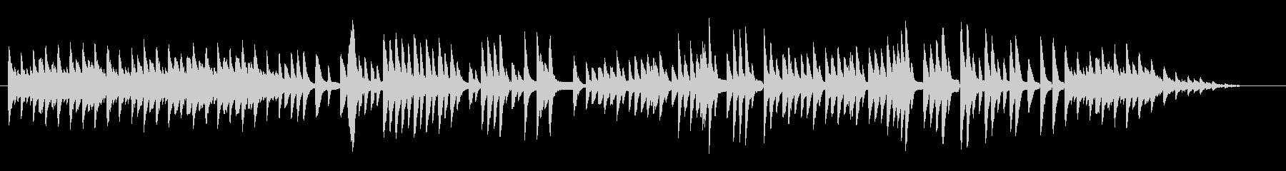 8bit -亡き王女のためのパヴァーヌ-の未再生の波形