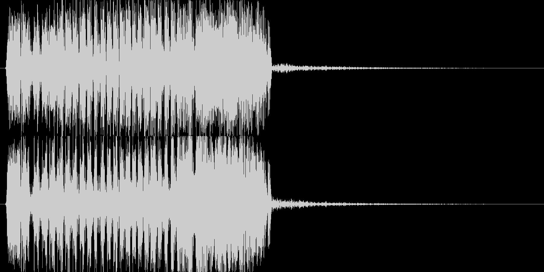 モンスターの鳴き声(鳥系2)の未再生の波形