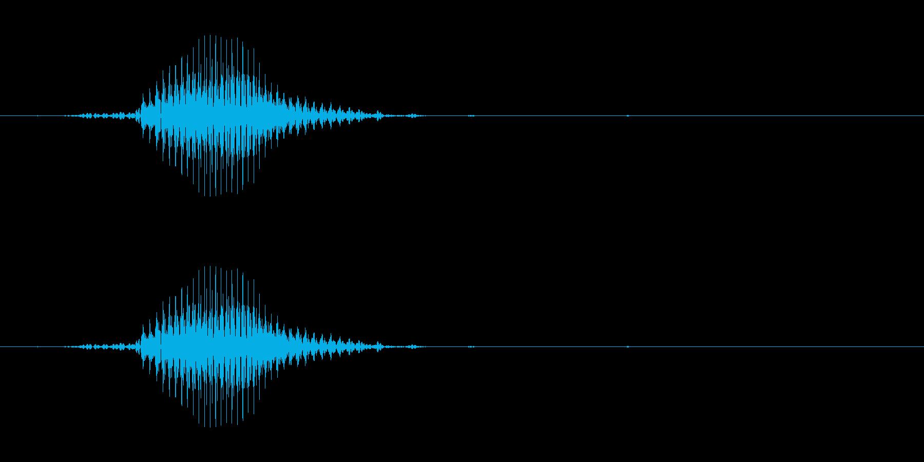 ロン(麻雀)の再生済みの波形