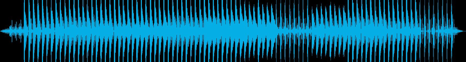 まったり暖かいイメージの再生済みの波形