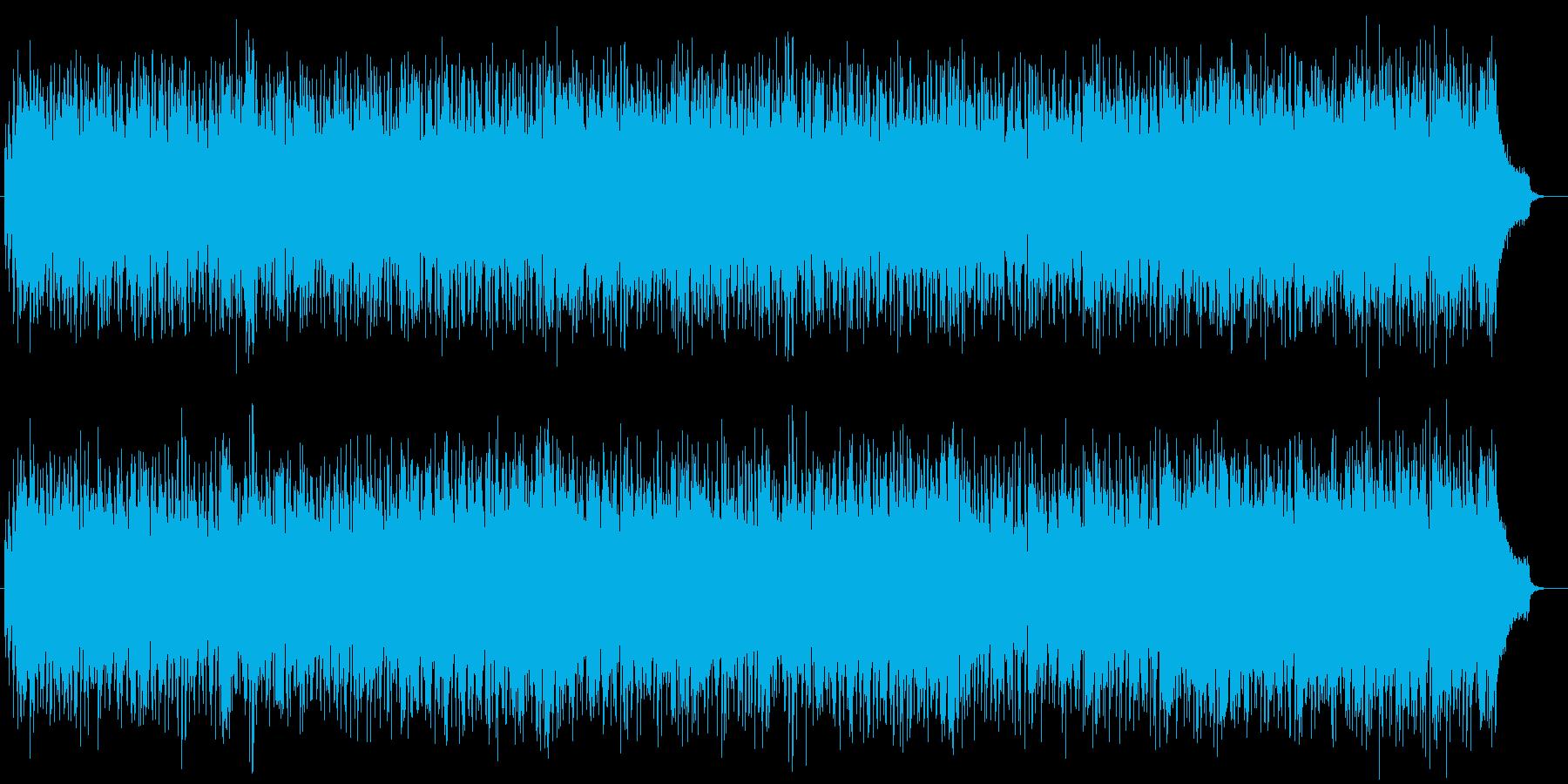 ムーディでリズミカルで優雅なジャズの再生済みの波形