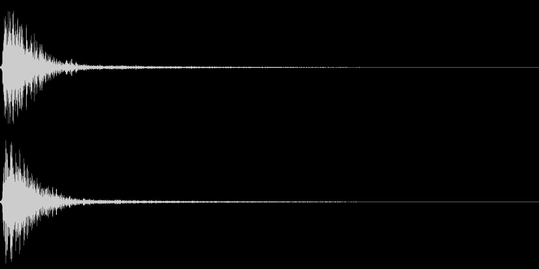 プリクラ 写真やコース選択 シュンの未再生の波形