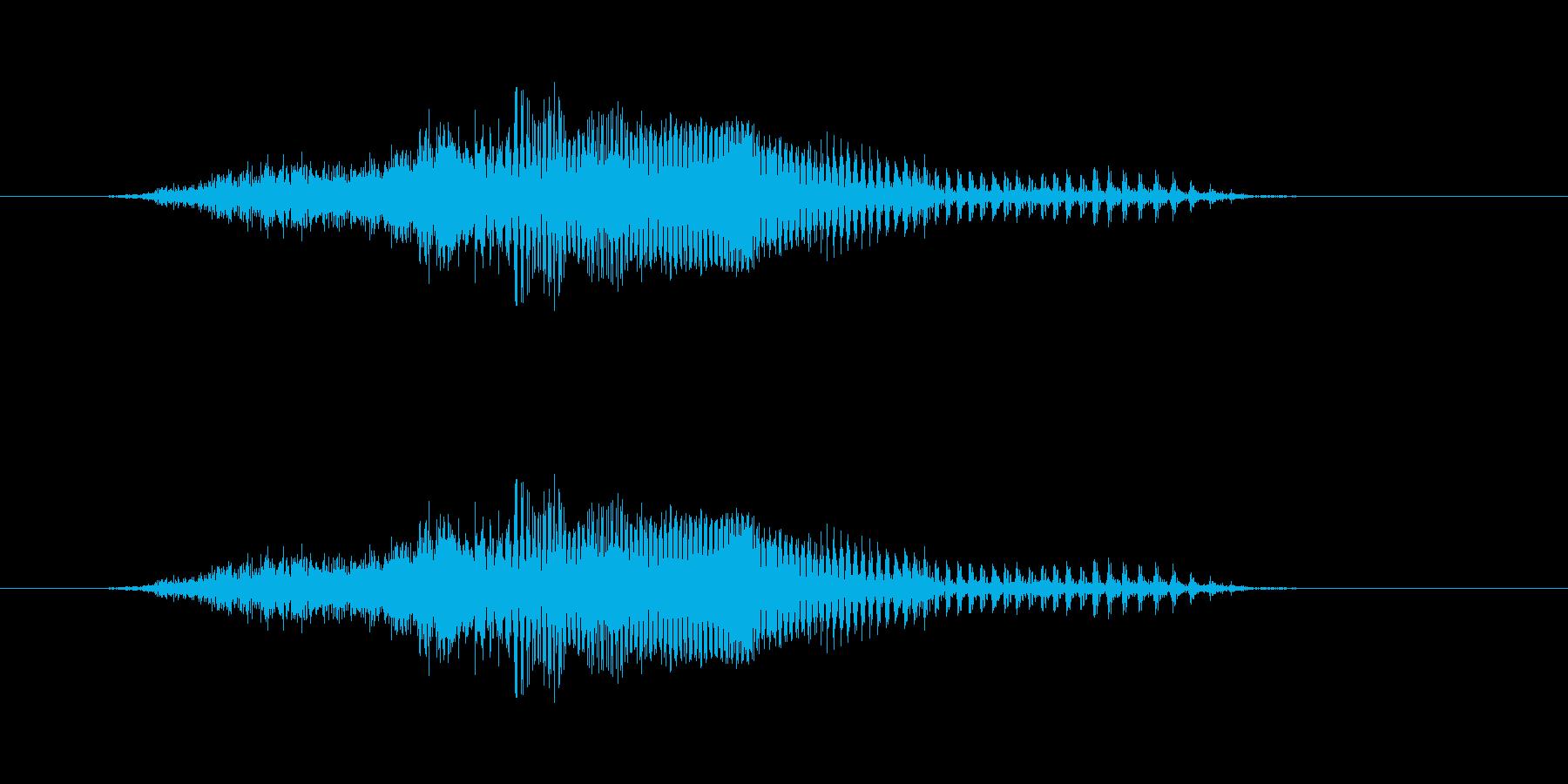 せいっ!! - 男性和風掛け声の再生済みの波形