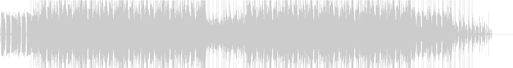 【高クオリティ】ベースから始まるロック調の未再生の波形