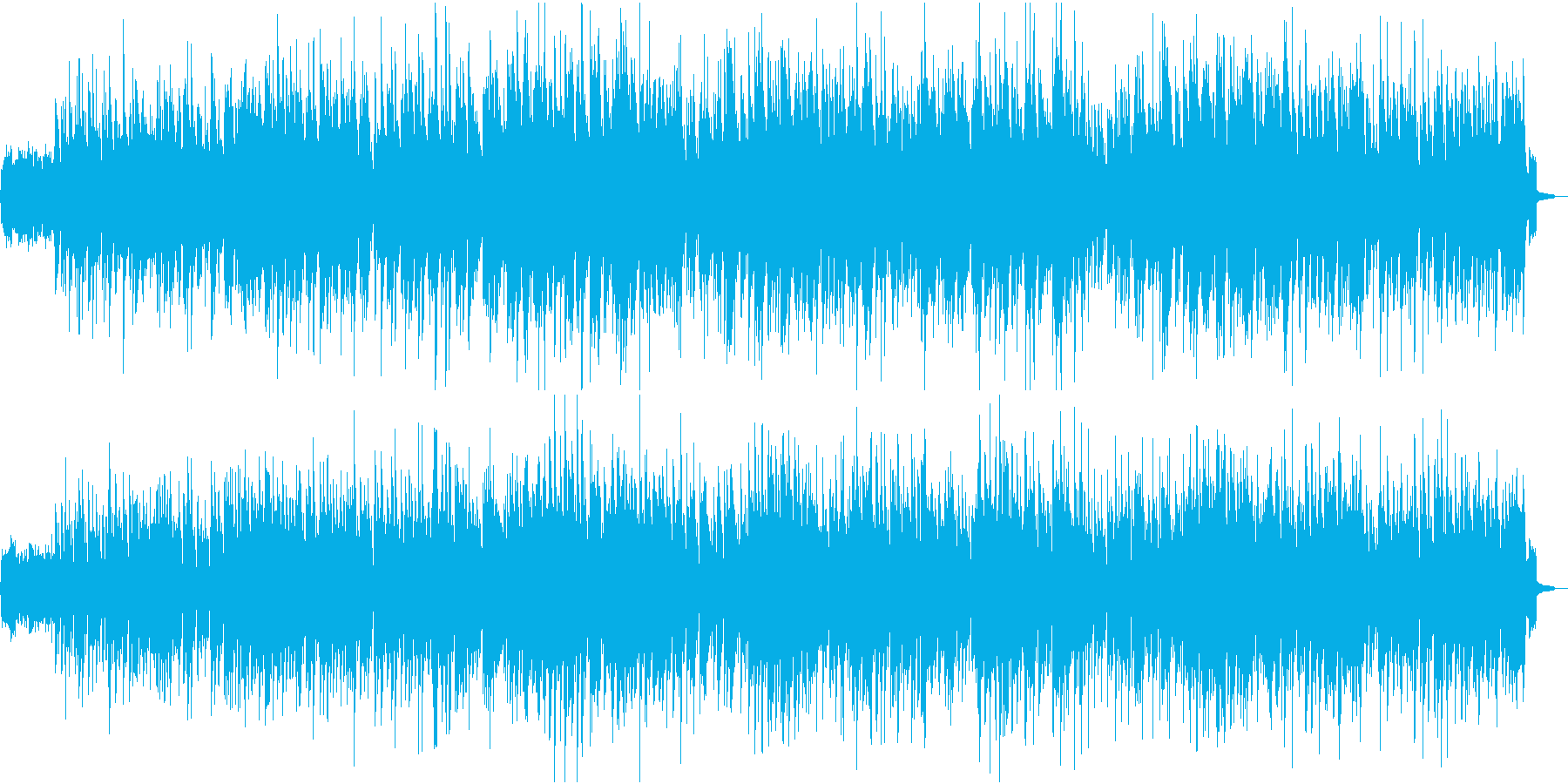 軽快で爽やかなピアノポップBGM/映像にの再生済みの波形