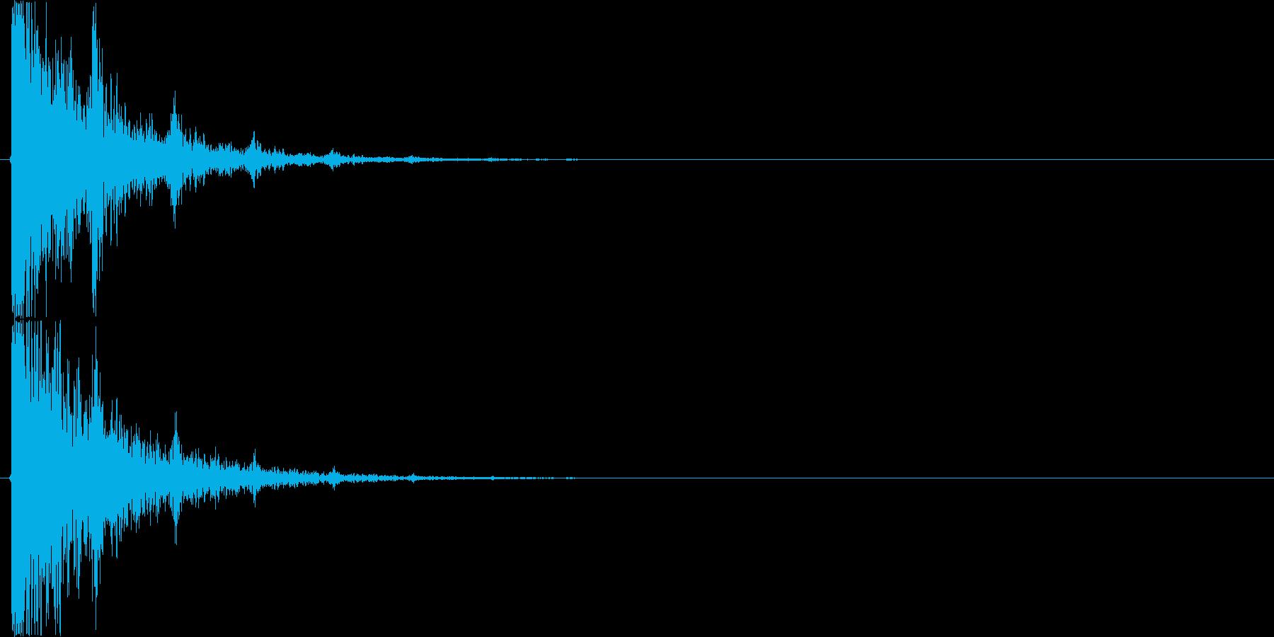 タンタンタンタン…(回想、タンバリン)の再生済みの波形