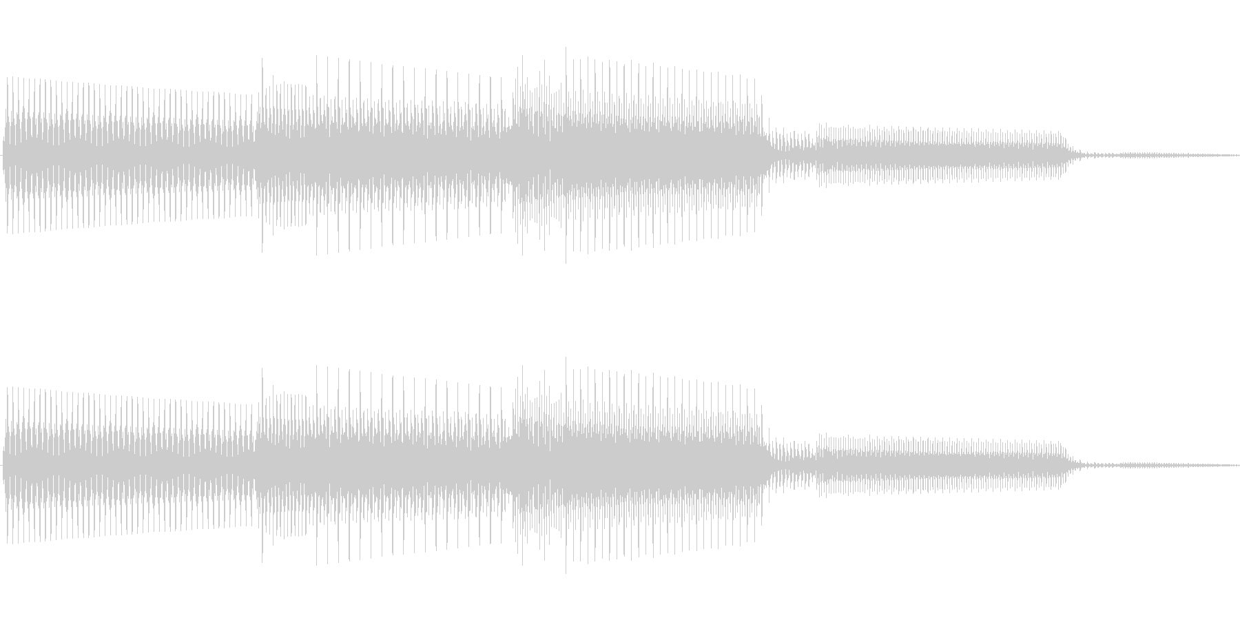 ボタン決定音システム選択タッチ登録B05の未再生の波形